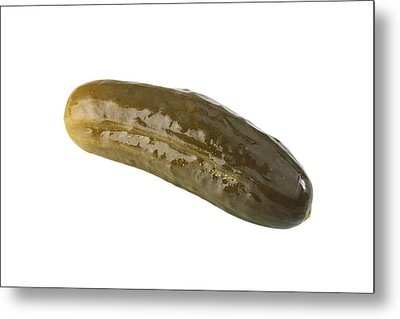 Pickle Metal Print by Michael Ledray