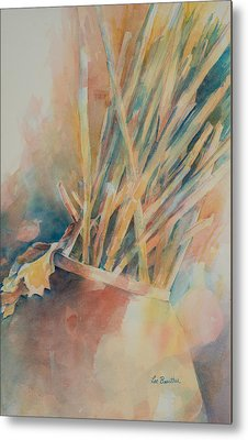 Pickup Sticks Metal Print