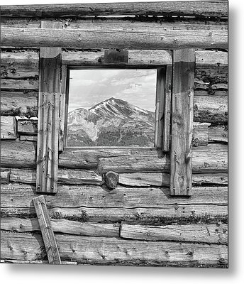 Metal Print featuring the photograph Picture Window #2 by Eric Glaser