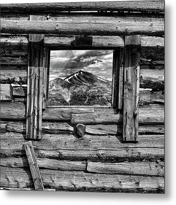 Metal Print featuring the photograph Picture Window #3 by Eric Glaser