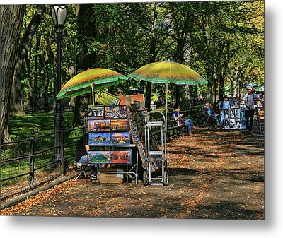 Pictures For Sale - Central Park Metal Print