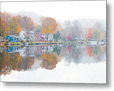 Picturesque Autumn Metal Print by Karol Livote