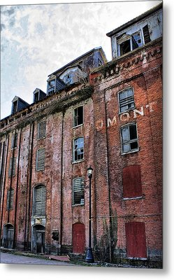 Metal Print featuring the photograph Piedmont Mill by Alan Raasch
