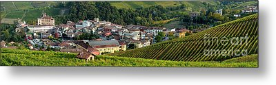 Metal Print featuring the photograph Piemonte Panoramic by Brian Jannsen