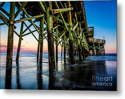 Pier Perspective Metal Print by David Smith