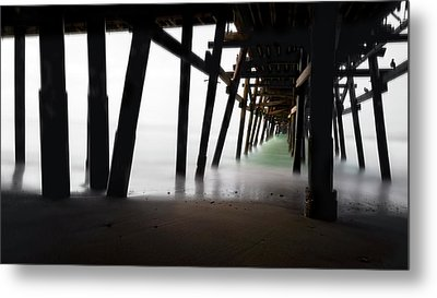 Metal Print featuring the photograph Pier Pressure by Sean Foster