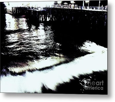 Metal Print featuring the photograph Pier by Vanessa Palomino