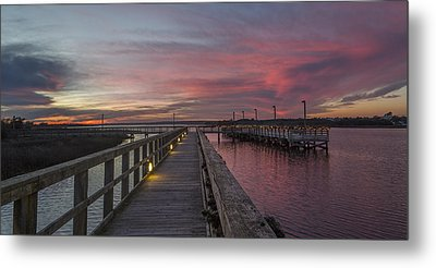 Piering Into Serenity  Metal Print