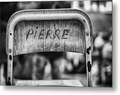 Pierre Metal Print by Pablo Lopez