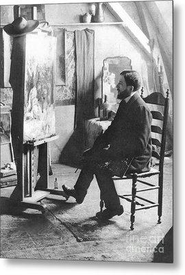 Piet Mondrian (1872-1944) Metal Print by Granger