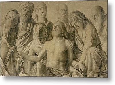 Pieta Metal Print by Giovanni Bellini