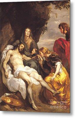 Pieta Metal Print by Sir Anthony van Dyck