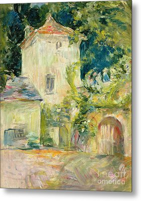 Pigeon Loft At The Chateau Du Mesnil Metal Print by Berthe Morisot