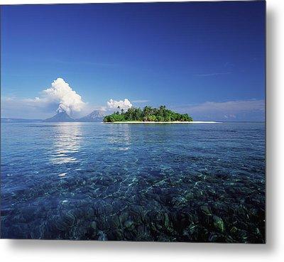 Pigin Island, Rabaul Harbour  East New Metal Print