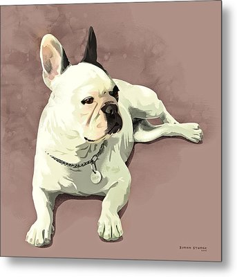 Piglet Metal Print by Simon Sturge