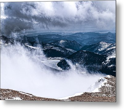 Metal Print featuring the photograph Pikes Peak by Anthony Baatz
