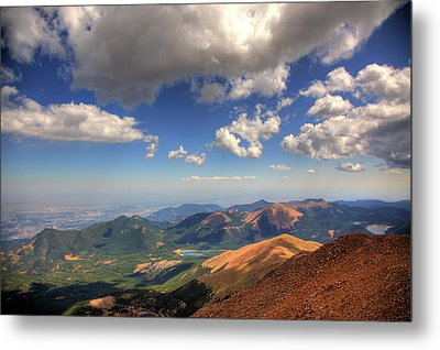 Pikes Peak Summit Metal Print