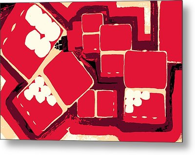 Pill Boxes To Infinity And Beyond Metal Print by Sheri Buchheit