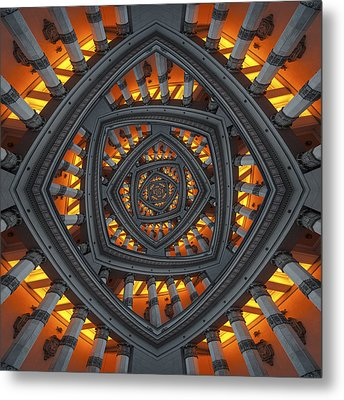 Pillars Metal Print by Kaupo Peetso