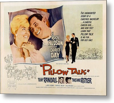 Pillow Talk, Doris Day, Rock Hudson Metal Print