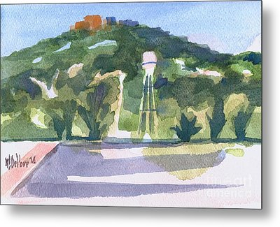 Metal Print featuring the painting Pilot Knob Mountain W404 by Kip DeVore