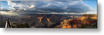 Metal Print featuring the photograph Pima Point Panorama by Beverly Parks