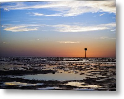 Pine Island Sunset Metal Print