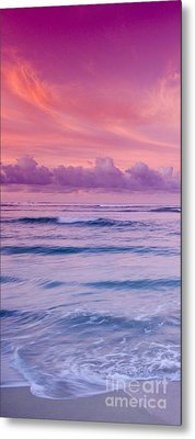 Pink Bliss -  Part 1 Of 3 Metal Print