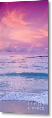 Pink Bliss -  Part 2 Of 3 Metal Print
