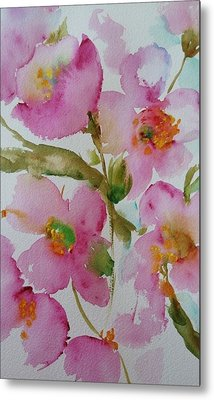 Pink Bloom Metal Print
