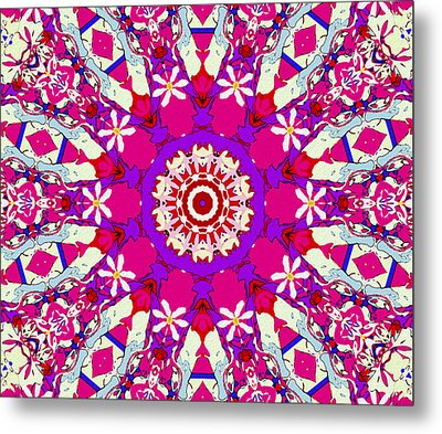 Pink Daisy Metal Print by Natalie Holland
