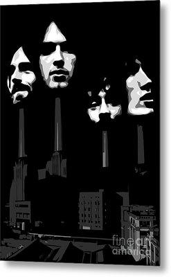 Pink Floyd No.02 Metal Print by Caio Caldas