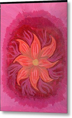 Pink Fusion Metal Print by Laura Lillo