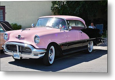 Metal Print featuring the photograph Pink Is A Color by Al Fritz