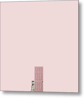 Pink On The Pink Metal Print by Caterina Theoharidou
