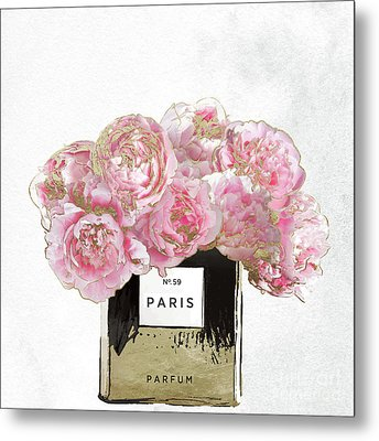 Pink Scented Metal Print by Mindy Sommers