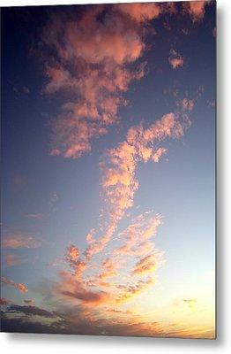 Pink Sunset One Metal Print by Ana Villaronga