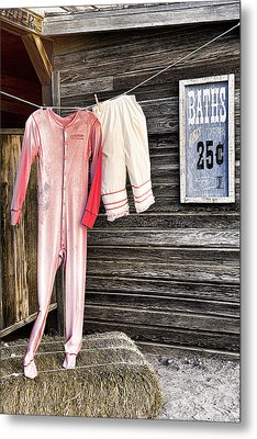 Pink Undies Metal Print by Wendy White