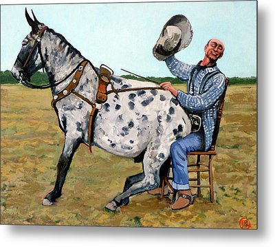 Pinky And Gert Metal Print by Tom Roderick