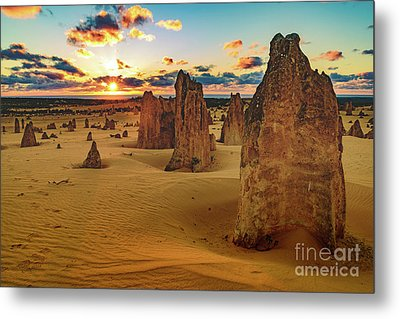 Pinnacles 8 Metal Print