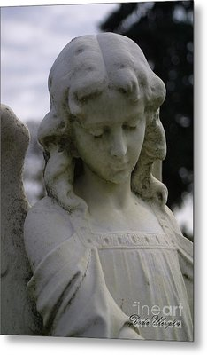 Metal Print featuring the photograph Pioneer Angel by Dodie Ulery