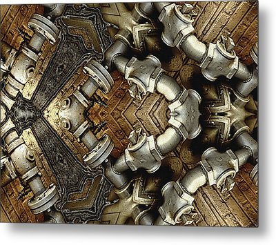 Pipe Dreams Metal Print by Wendy J St Christopher
