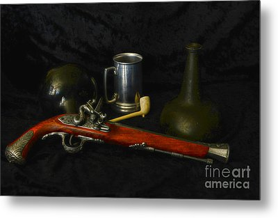 Pirates And Their Vices Metal Print by Paul Ward