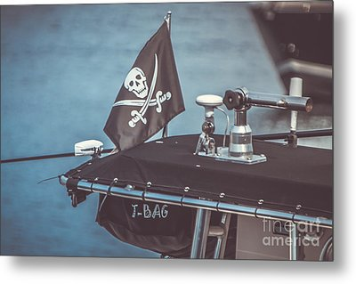 Pirates Of Gloucester Metal Print by Claudia M Photography