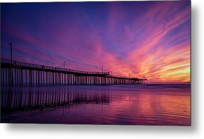 Metal Print featuring the photograph Pismo's Palette by Sean Foster