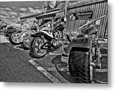 Pit Stop Metal Print by Ches Black