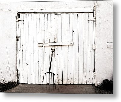Pitch Fork Metal Print by Marilyn Hunt