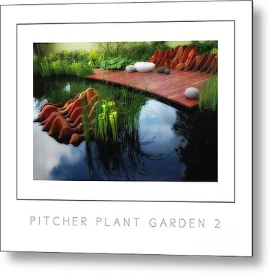 Pitcher Plant Garden 2 Poster Metal Print by Mike Nellums
