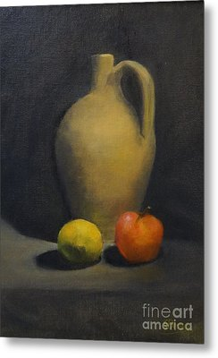 Pitcher This Metal Print by Genevieve Brown