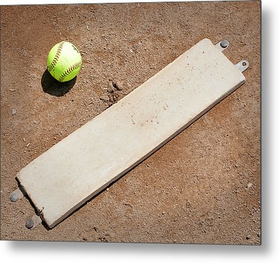 Pitchers Mound Metal Print by Kelley King